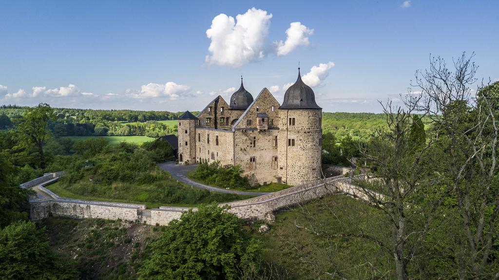 Castle Sababurg in Germany, the castle of Sleeping Beauty