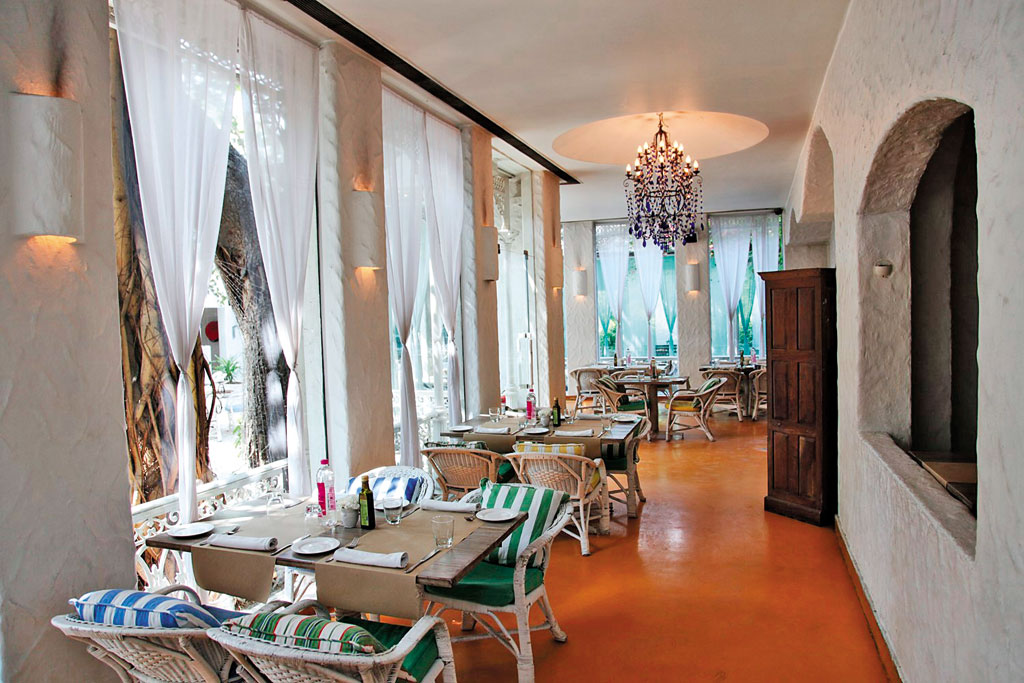 Interiors of Olive Bar and Kitchen restaurant