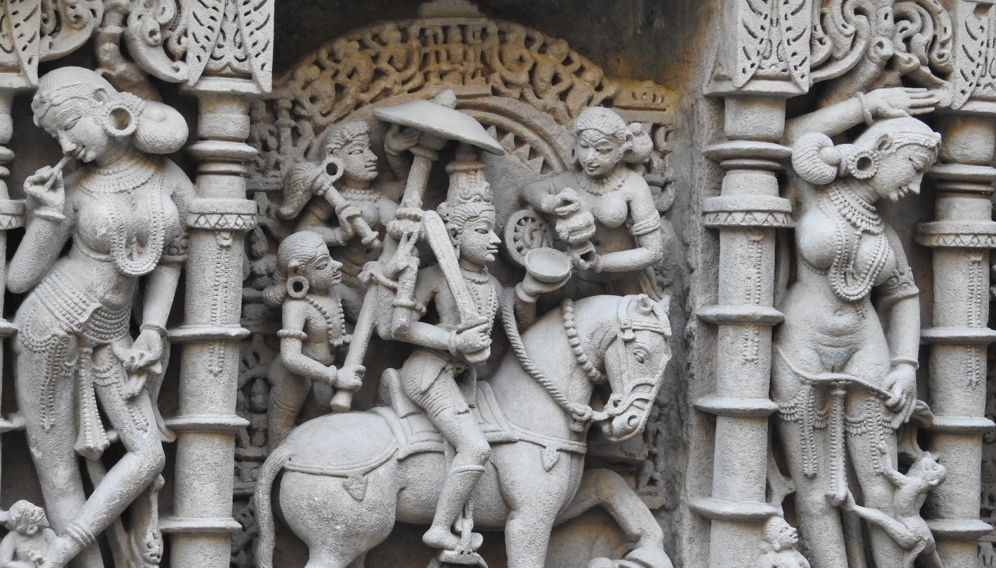 The Last Avatar of Lord Vishnu - 'Kalki' at Rani Ki Vav