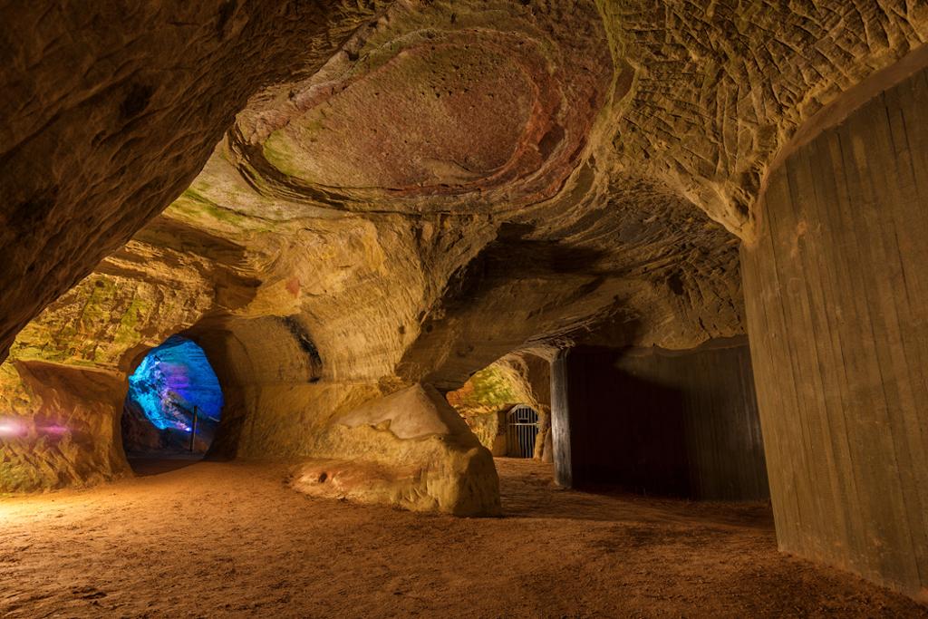Inside the Schlossberg Cave