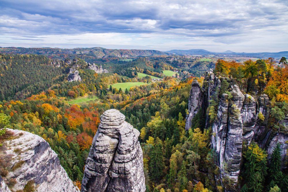 Inside the Saxon Switzerland National Park
