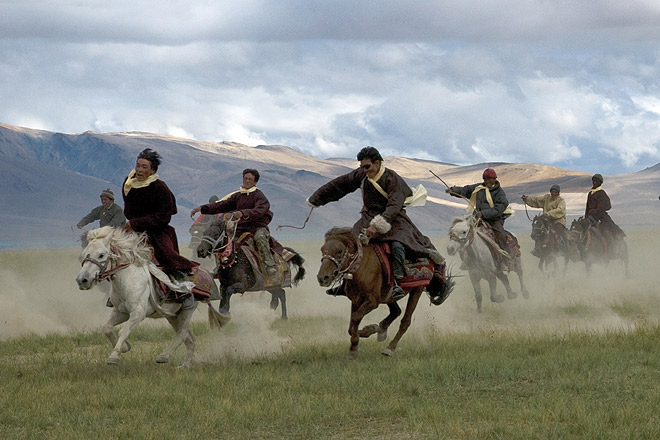 Horse races: A very prestigious sport among the nomadic Changpas