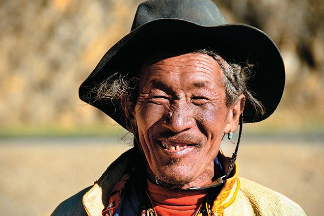 A Drokpa nomad
