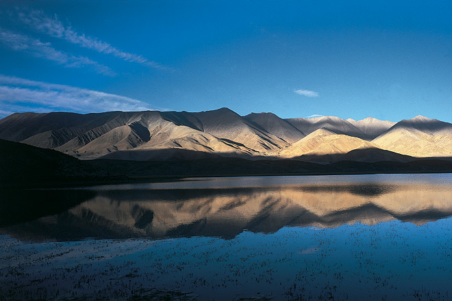 The Indus river near Dungti in Ladakh