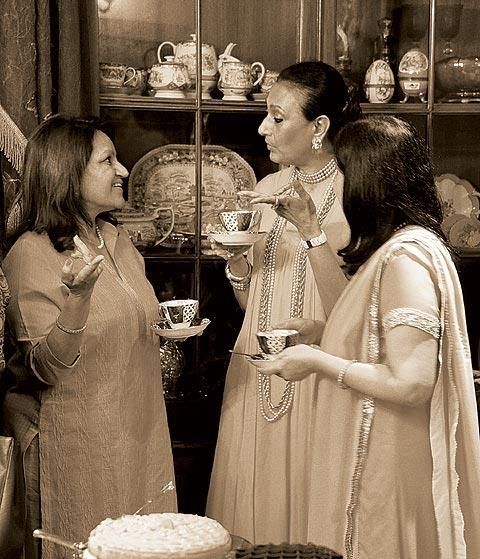 Tea and intimate talks go hand in hand. (From the book Chai: The Experience of Indian Tea, by Rekha Sarin and Rajan Kapoor; Published by Niyogi Books; Price Rs 1,995)