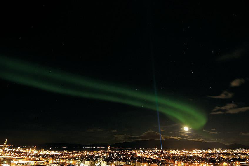 Witnessing the Aurora Borealis
