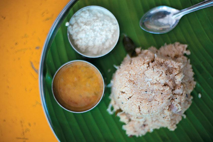 Photos: Rava upma at Anandhas - Outlook Traveller