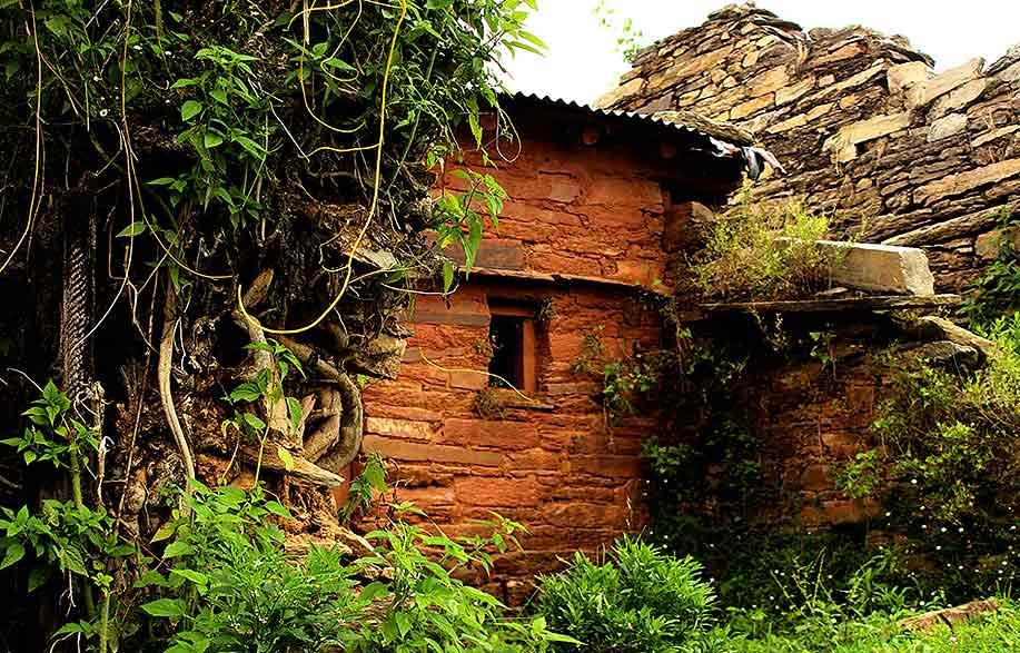 We are used to more elaborate ruins of forts and civilisations - but tucked away in a nondescript part of Uttarakhand, this also is a living example of a bygone era