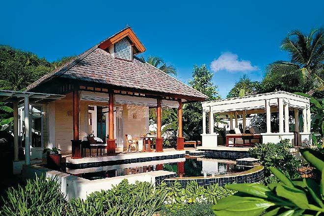 A Spa Pool Villa at the Banyan Tree Seychelles Resort