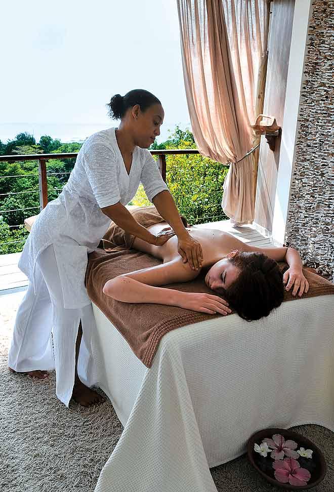 Massages and more at the Le Domaine de La Réserve
