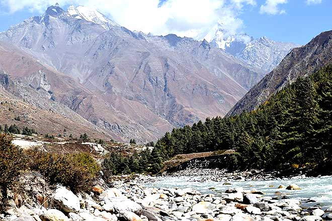 Baspa River at Chitkul