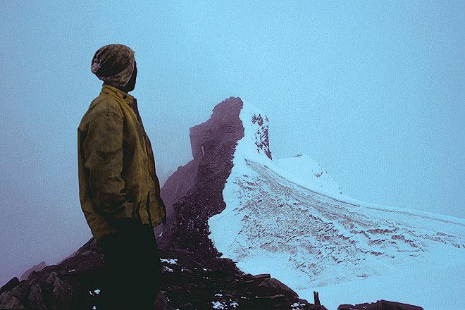 On Harsil-Rudragera-Kedar tal trail in Uttarakhand