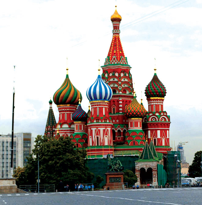 St Basil--s Cathedral in Moscow