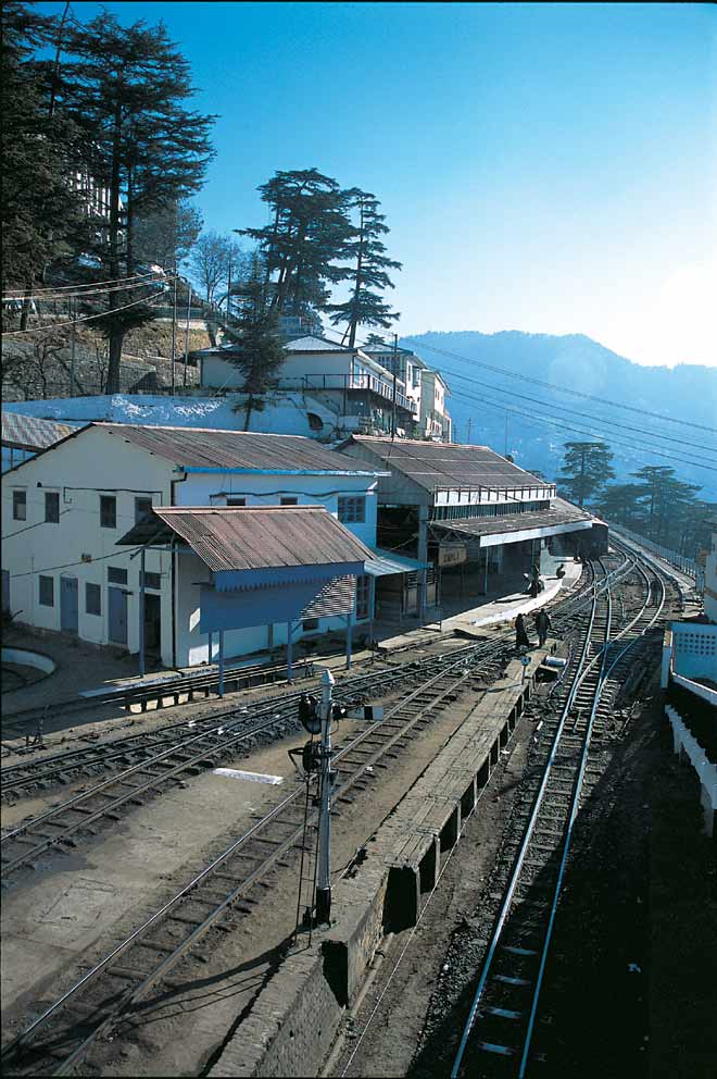 On the Kalka-Shimla line