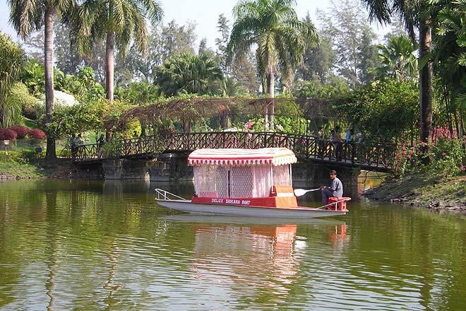 At the Vanganga Lake Garden near Silvassa