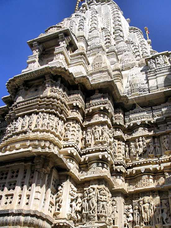 Impressive carvings on Jagdish Mandir