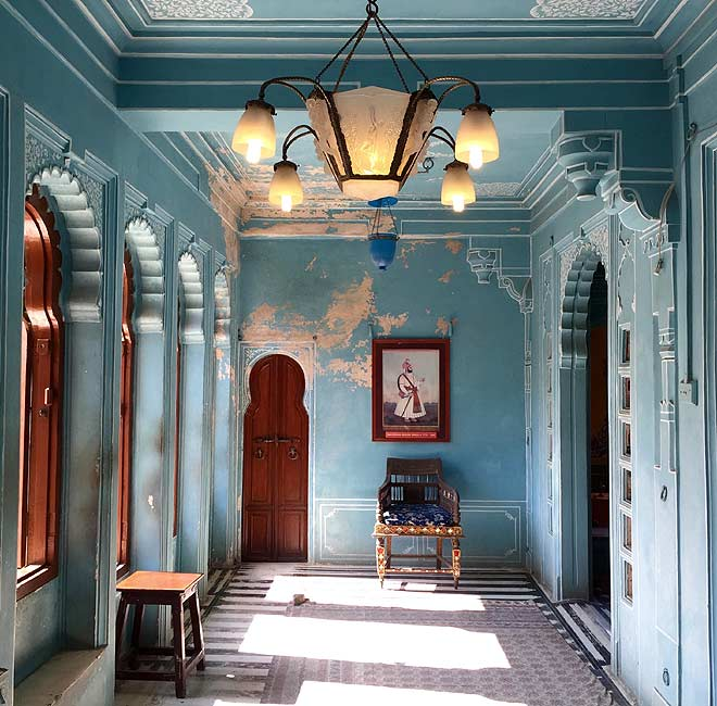 A look inside the Lake Palace