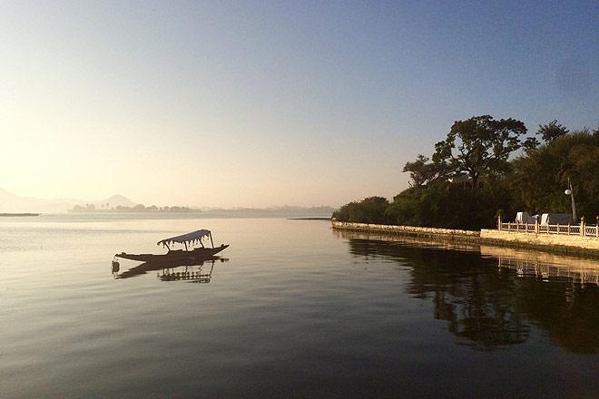 Cruising on Lake Pichola
