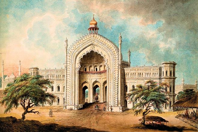 The Rumi Darwaza gateway to Asaf al-Daula--s Imambara