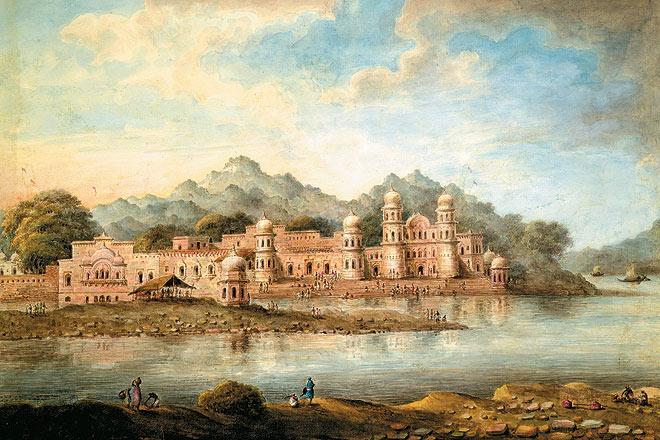 The ghats at Haridwar