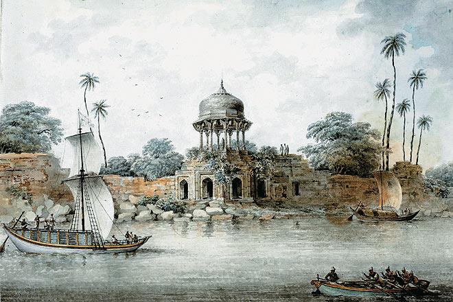 Jaffeir Khan--s Garden at Patna
