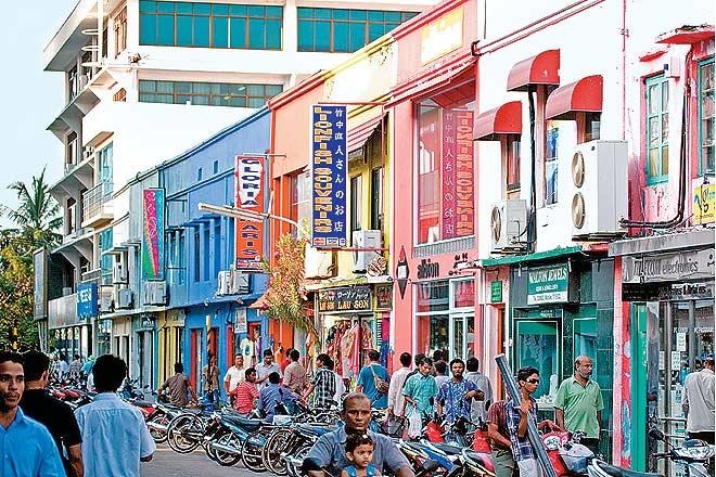 Maldives Island City Of Mala C Outlook Traveller