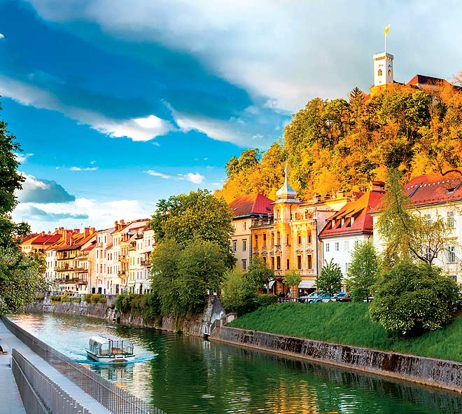 Ljubljana, Slovenia: Itӳ a city without one dominant tourist attraction, and perhaps that is what makes it such an all-round destination. The entire city charms. The Slovenian capitalӳ credentials as one of Europeӳ greenΥst and most liveable cities have seen it get named as the European Green Capital of 2016. Restrictions on veΨicles at the city centre coupled with ample pedestrian and cycling tracks in a city bisected by the emerald-green Ljubljanica River, add to the cityӳ lure. Add some of the most stunning early-modern, minimalist buildings, and the city is referred to as a Ҫewel boxҮ Post a newfound politiΣal stability, the city has also become an active cultural hub for the region.