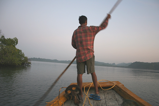 Setting out on a turtle survey in Wandoor