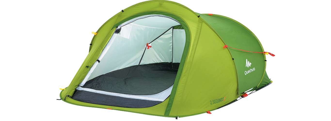 Travel Gear: Decathlon's Easy Camping Tent
