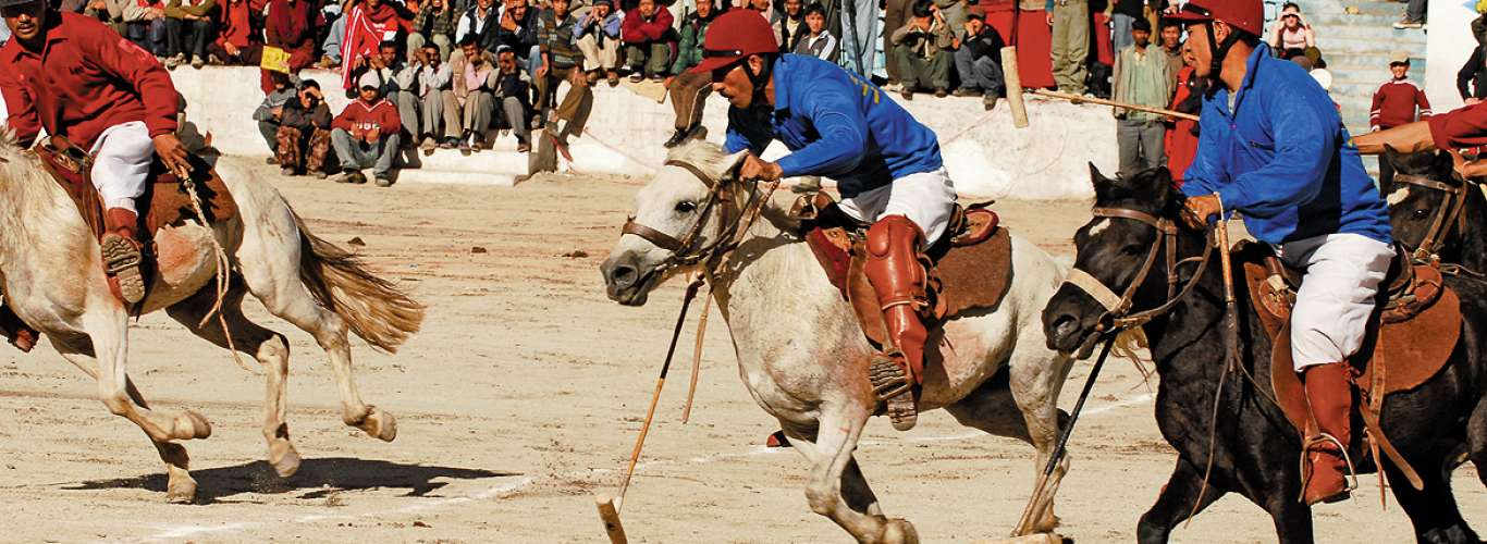 Ladakh: A Game of Polo in Leh