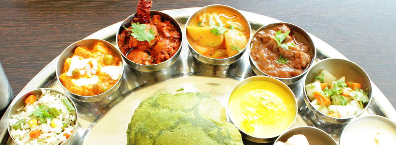 Navratri Thali at Vivanta By Taj-Gurgaon