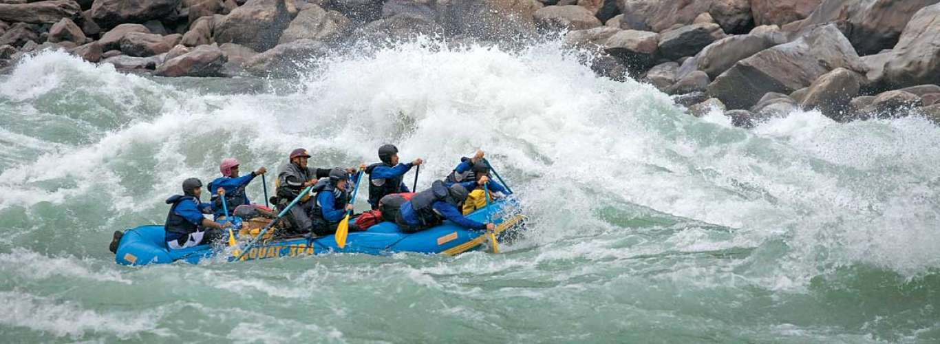 Rafting and water-sports in Uttarakhand no more!