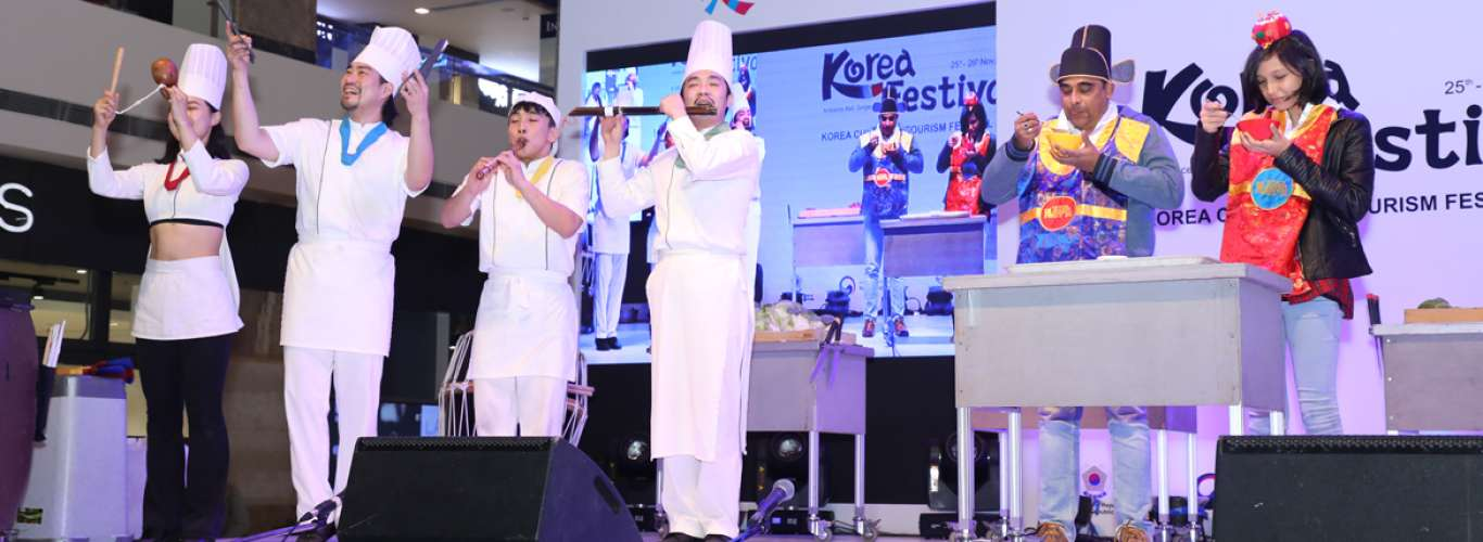 Delhi:  Korea Culture and Tourism Festival 2017