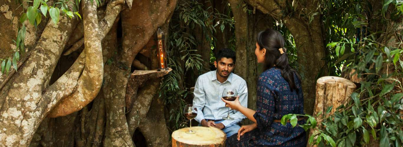 Manjarabad: Enjoy Coffee and romance at Golden Wood