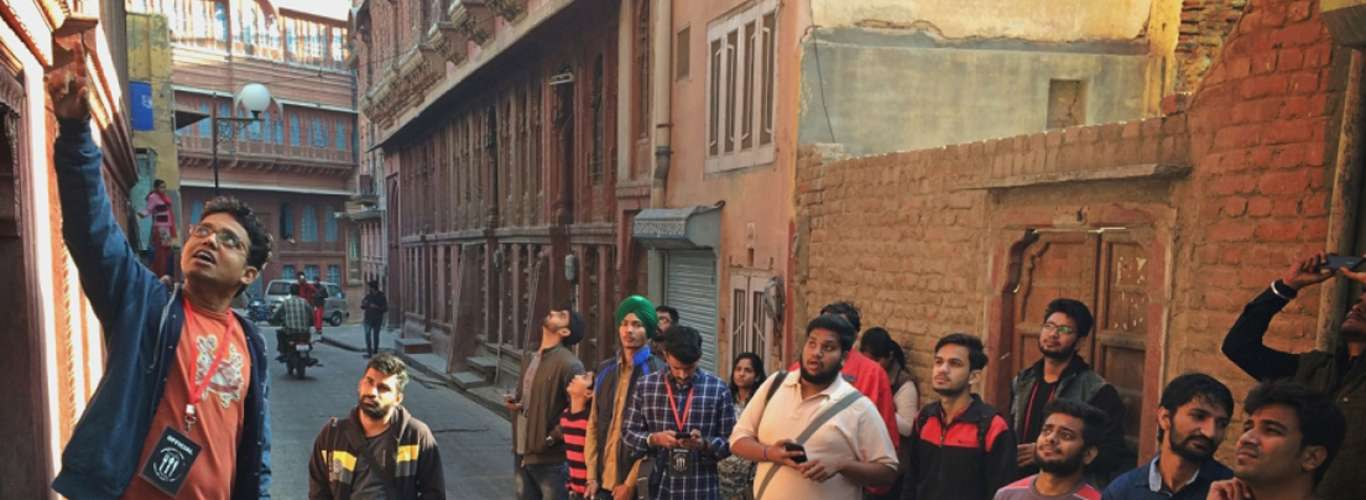 Don't miss the India Heritage Walk Festival