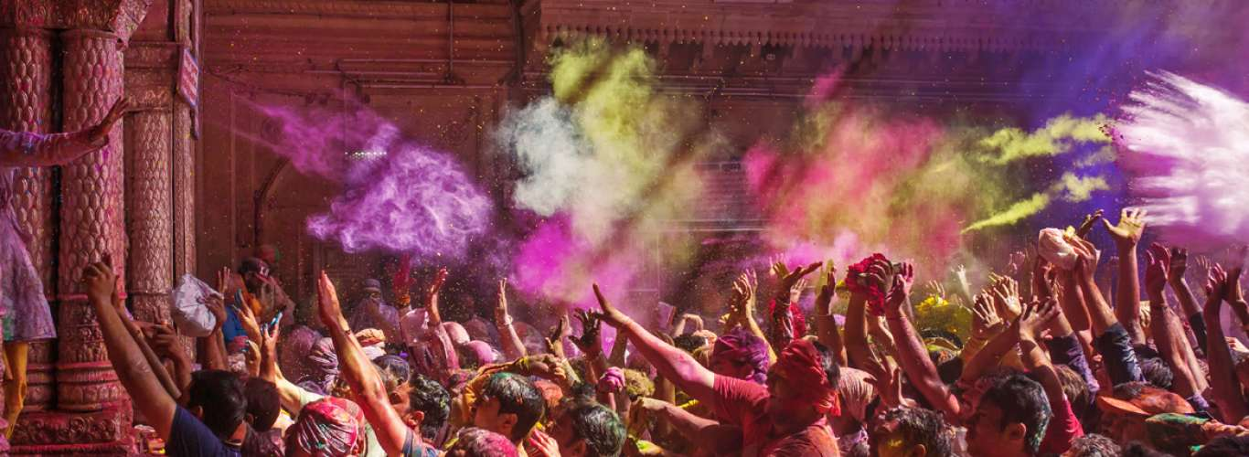 A Glimpse of Holi Celebrations in the Land of Lord Krishna