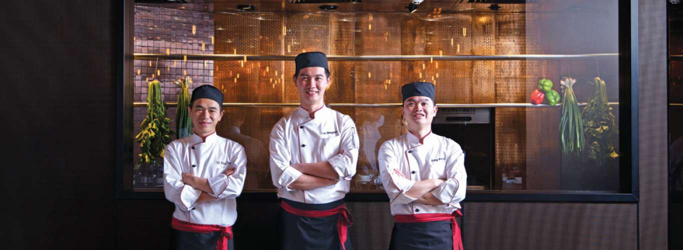 Head to Shang Palace for some Oriental goodness