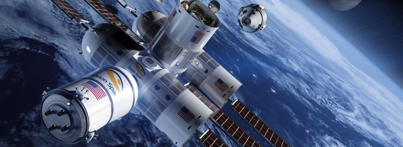 Orion Span: Luxury Hotel in Space