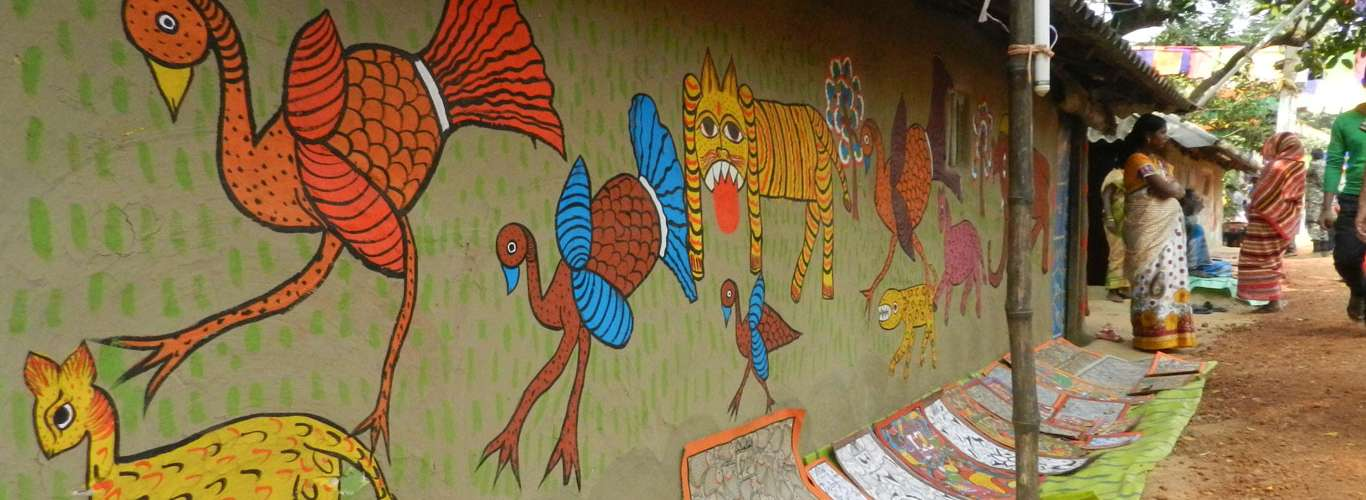A Day With The Scroll Painters Of Naya