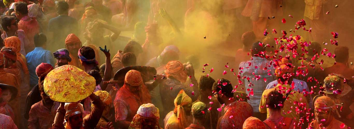 Indian Cities That Celebrate The Festival Of Colours In Full Swing