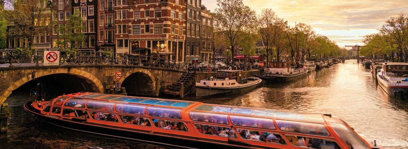 Amsterdam, the City of Beautiful Canals
