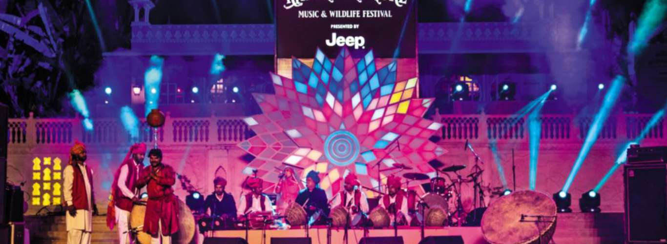 Rumble in the Jungle at Ranthambore Music and Wildlife Festival 2019