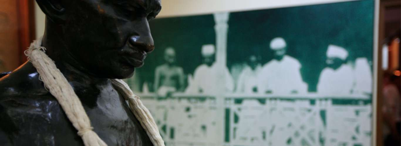 On the Trail of the Mahatma