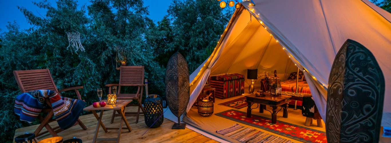 Hit The Great Outdoors: Glamping Destinations In India