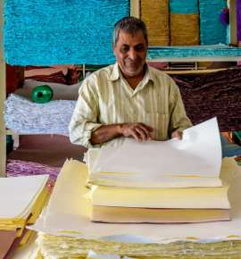 On the Trail of Indian Handmade Paper