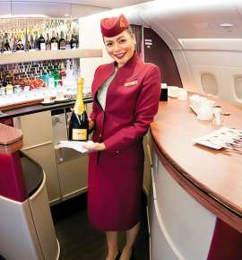 The Art Of Flying With Qatar Airways
