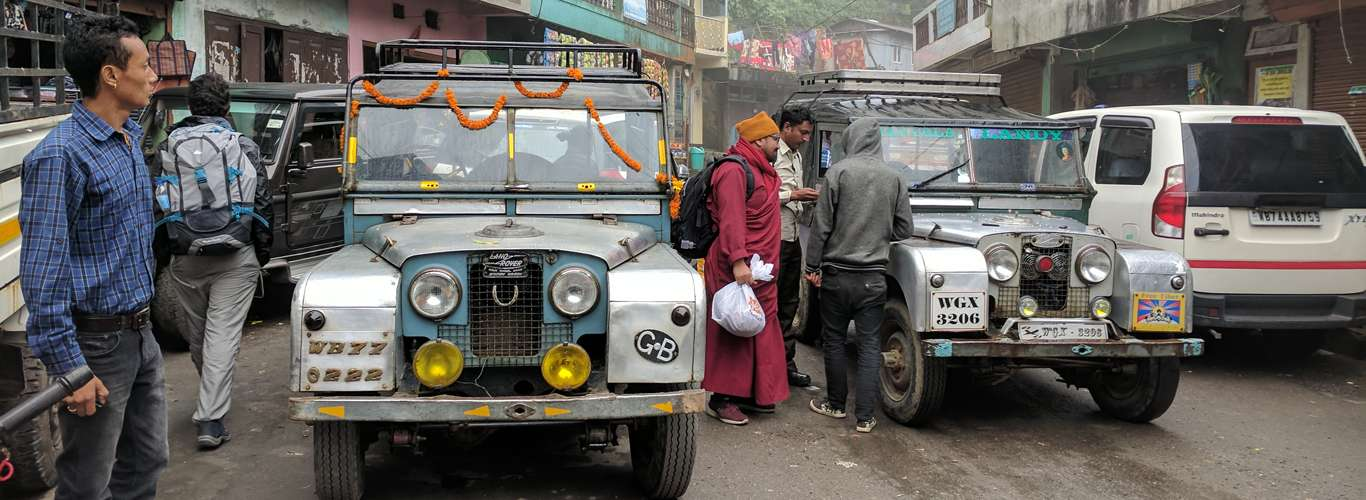 The Wonderful and Age-Defying Series - Land Rovers Of Darjeeling