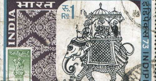 A Glimpse Into India: One Stamp At A Time