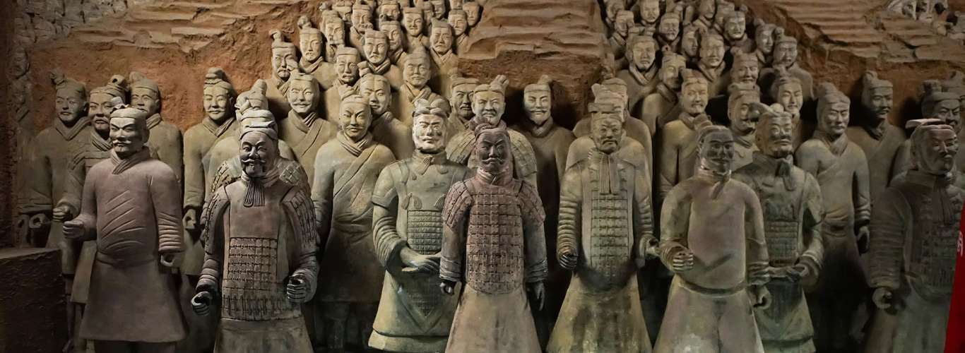A Terracotta Army In China