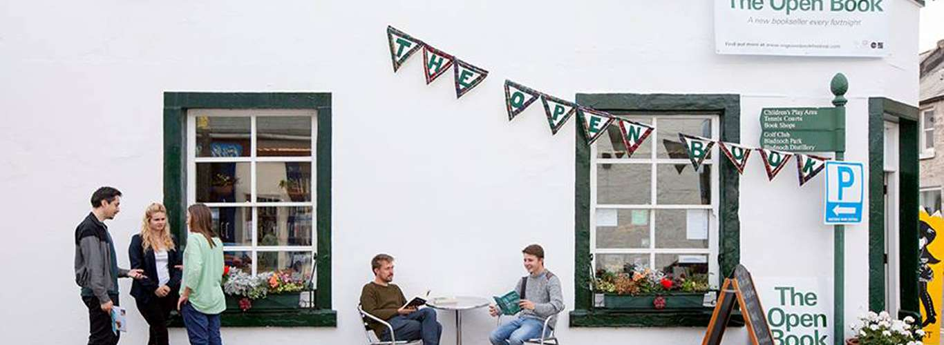 Run A Bookshop In Scotland On Your Next Vacation